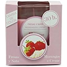 Ambientair VV004FNAA - Vela, aroma de fresa y nata