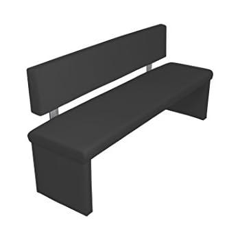 Moderne Sitzbank cavadore sitzbank charisse küchenbank 160 cm breit mit rückenlehne