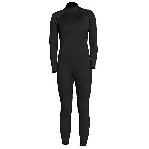 Festnight 2mm Ganzkörper Neoprenanzug Tauchanzug Zurück Reißverschluss Anzug Overall für Schwimmen Surfen Tauchen Schnorcheln
