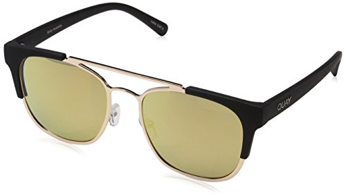 Quay Eyewear High and Dry, Montures de Lunettes Mixte Adulte, Or Gold, 1