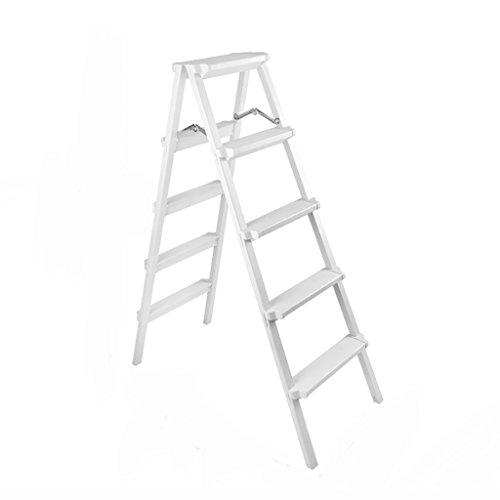 Tritthocker, europäisches minimalistisches Weiß, Leiter 2, 3, 4, 5 Schritte nach Hause Klappleiter...