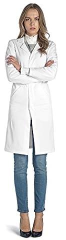 Dr. James Ladies White Lab Coat Size 8