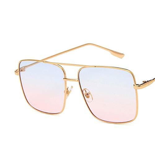 YOGER Sonnenbrillen Einfache Große Sonnenbrille Frauen Viereckige Sonnenbrille Für Frauen Brille Retro Uv400