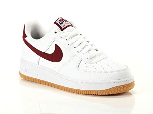 Nike Air Force 1 '07 2 Sneakers Bianco Bordeaux Sneakers (40 - Bianco)