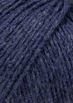 Lang Yarns - CASHMERE PREMIUM - Farbe 0134 Marine Mélange - 100% Kaschmirwolle (25 Gramm - 1 Knäuel) -