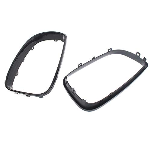 Majome 1Pair ABS Front Grills Grill Frame for BMW 1 Series E81 E87 2008 2009 2010 2011