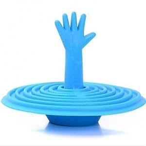 BI Palm Stopfen Badewanne, Gummi 4-Farben-Wasserleck Steckbecken Steck