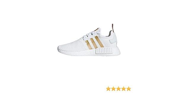 adidas , Damen Sneaker Weiß FTWR White/Copper Met./Ash Pearl