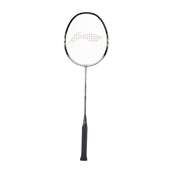 Li-Ning Smash XP 808 Badminton Racquet, Size S2 (Black/White)