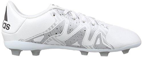 adidas Performance X15.4 Fxg Jungen Fußballschuhe Weiß (Ftwr White/Core Black/Silver Met.)