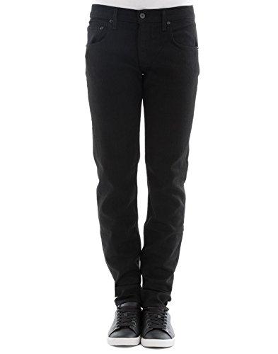 Rag & Bone Herren M1224k302001 Schwarz Baumwolle Jeans (Herren Rag Und Bone)