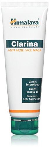 Himalaya Clarina Anti-Acne mask / Anti-Acné Masque 75ml / Contrôle d'huile / Nettoie les pores / Efface l'acné