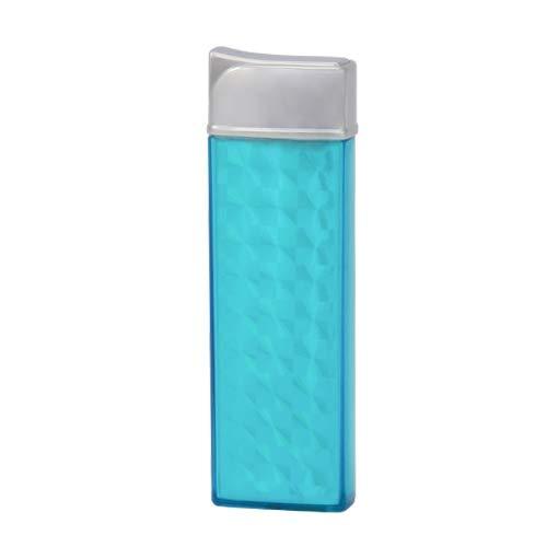 TESLA Lighter T12 | Lichtbogen Feuerzeug, Plasma Single-Arc, elektronisch wiederaufladbar, aufladbar mit Strom per USB, ohne Gas und Benzin, mit Ladekabel, Blau