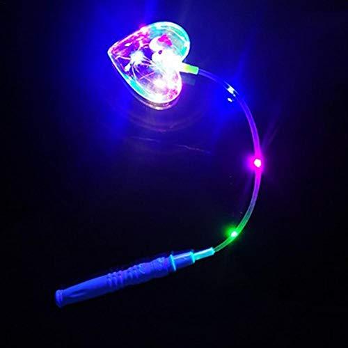 Comaie Licht Ball Laterne Cartoon Flash LED Tragbare Welle Weihnachtsspielzeug Flashing Clear Flexible Lampe Xmas Party Decor Kinder Spielzeug Kinder Leuchtende Bunte Laternen