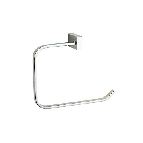 Handtuchring, Bronze Holder Bath Hand Rack Hanger, Badezimmer-Zubehör-Langzeitwutzung ist Harmless, Environmental and Healthy, Corrosion Resistant, Strong and Durable, 7,8 Zoll (Silber),Silver -