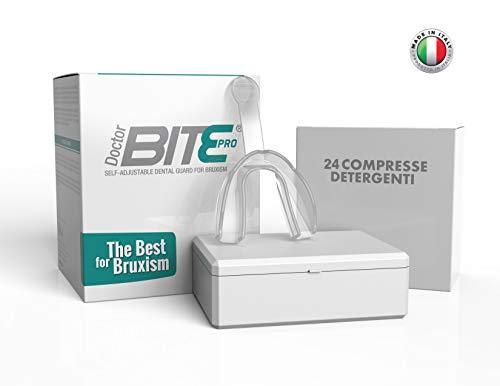 Doctor Bite Pro - Bite automodellante per combattere il Bruxismo (Trasparente)