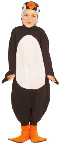 WIDMANN 3458P - Kostüm für Kinder Pinguin Südpol, Gr. 110/116 Sortiert