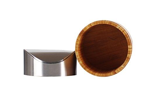 Tischabfalleimer aus Bambus - 2