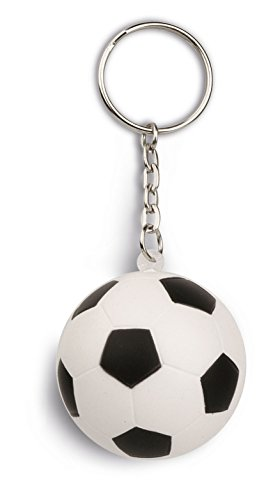 50 pezzi originale portachiavi antistress anti stress a forma di palla pallone da calcio