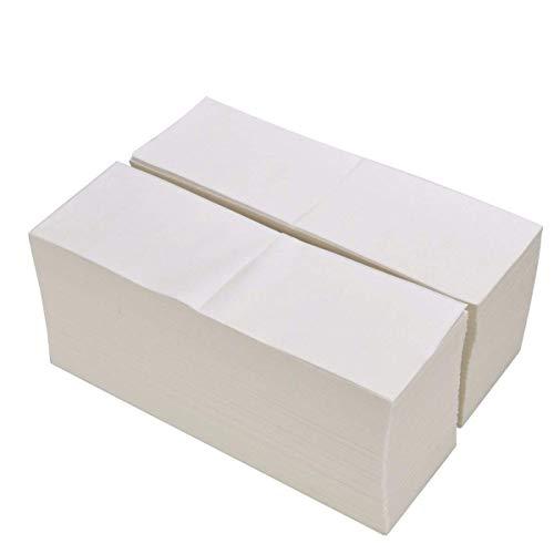 ProLine Fanfold Thermo-Etiketten für Zebra-Drucker, 10,2 x 15,2 cm, Weiß, perforiert, 2.000 Etiketten pro Stapel 1 Stack (Drucker Etiketten Zebra 2x1)
