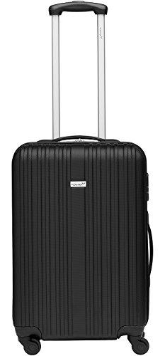 Packenger Line Koffer, Trolley, Hartschale  3er-Set in Schwarz, Größe M, L und XL - 3