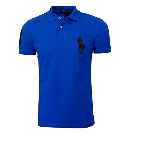 authentique-polo-ralph-lauren-big-pony-m-bleu