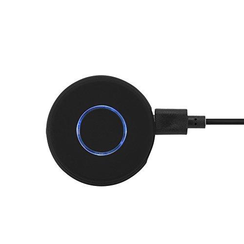 VBESTLIFE Mini Récepteur Bluetooth 4.1 Kit Voiture Mains Libres Adaptateur sans Fil avec 3.5mm Audio Stéréo, Adaptateur Audio Transmetteur pour Les Téléphones Mobiles, MP3, iPod, PC, Haut-parleurs,