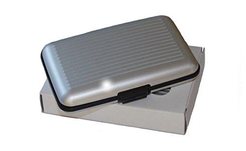 maxbox kreditkartenetui alu silber rfid kreditkarten. Black Bedroom Furniture Sets. Home Design Ideas