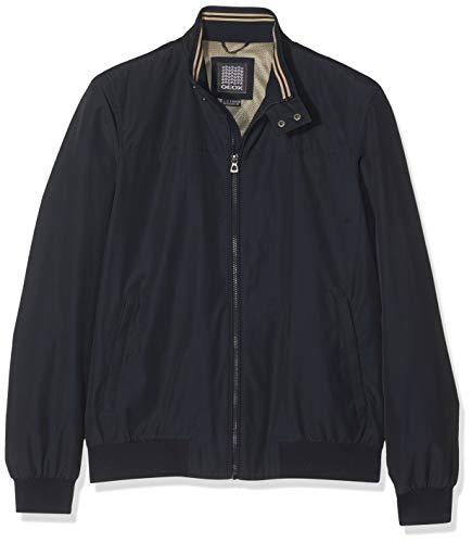 Geox Man Jacket, Chaqueta Hombre, Azul Dark Navy F4300