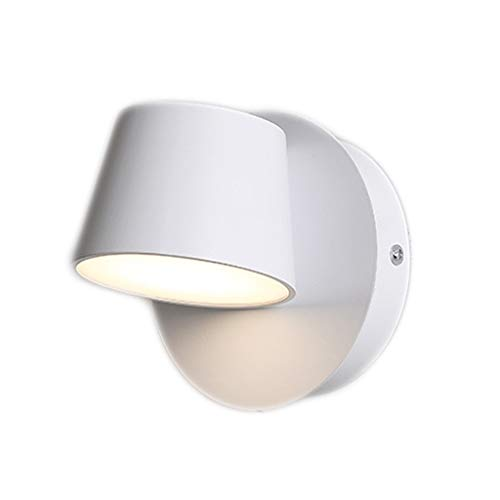 Lámpara de pared de la lámpara de cabecera dormitorio individual o doble...
