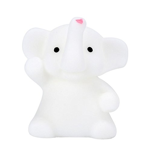 Mini Squishy Slow Rising Stress Relief Toys mingfa Weiche Mochi Elefant süße Tier Squeeze Dekompression Spielzeug für Kinder Erwachsene (Billig Hund Spielzeug 1 Unter)