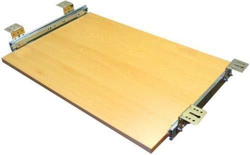 EisenRon Tastaturauszug Buche Dekor 60x30 cm Nutzhöhe 47mm Schublade Auszug für Tastatur -