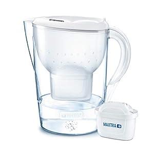 31i1RoQ7kFL. SS300  - BRITA Wasserfilter Marella XL weiß inkl. 1 MAXTRA+ Filterkartusche - Großer BRITA Filter zur Reduzierung von Kalk