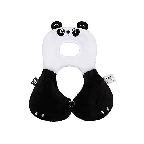 Baby Nackenkissen mit Stützfunktion - Kindersitz-Zubehör für Auto/Fahrrad/Reise - Baodanjiayou (Panda)