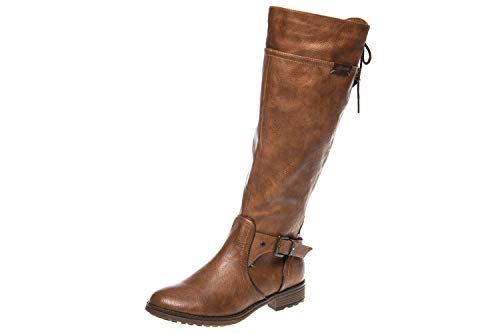 MUSTANG Damen Stiefel Braun, Schuhgröße:EUR 45