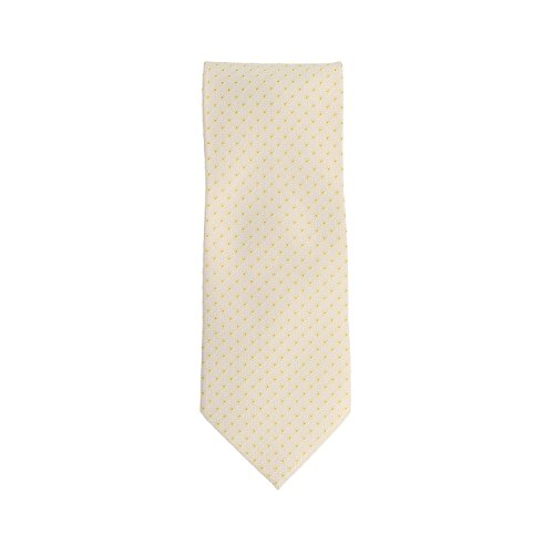 Silk Ties Krawatte Klassisch Seide Beige Floral 8,5 cm Pure Silk Floral Tie
