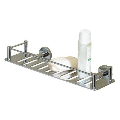 Essentials massivem Messing Wandmontage Dusche Regal Finish: Nickel poliert