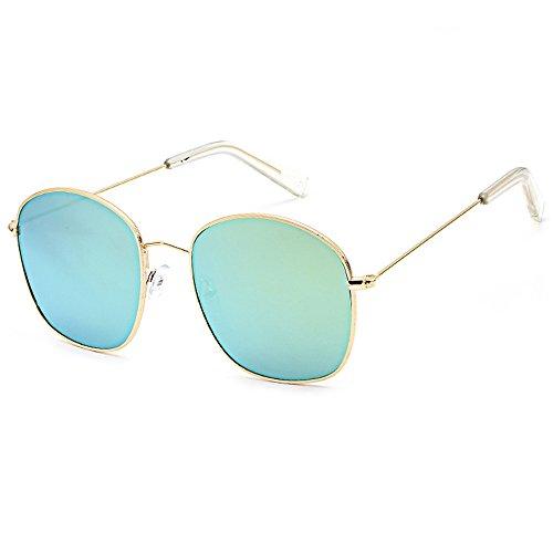 Whycat Classic Aviator Sonnenbrille, polarisiert, 100% UV-Schutz, Schutzbrille für den Strand im Freien Damen Sonnenbrille Verspiegelt(K)