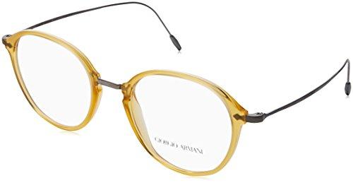 e81af6d67c3af9 Giorgio Armani 0AR7148, Monturas de Gafas para Hombre, Marrón (Matte Honey),