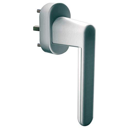 Schellenberg 46511 Fenster und Balkontüren Sicherheits-Alarmgriff, 37mm Stift, Silber