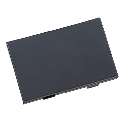Schwarz Konsole Warenkorb (Skays Aluminium 10 in 1 Game Card Cartridge Case Halter Aufbewahrungsbox für NS Switch (Schwarz))