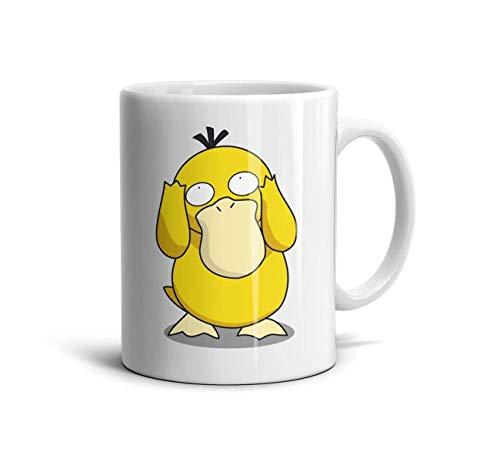 Pokemon Mode Tasses Shihangya One Size Go À Psyduck Squirtle Café Cute Thé Animal OX8Pwkn0