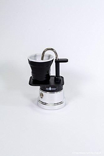 Cafetera Top Moka Mini 1con tazas de café (Varios colores)