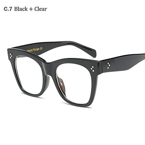 CCGSDJ 2017 Hot Cat EyeSonnenbrille Luxusmarke Designer Frauen SonnenbrilleDameÜbergroßen RahmenEyewear