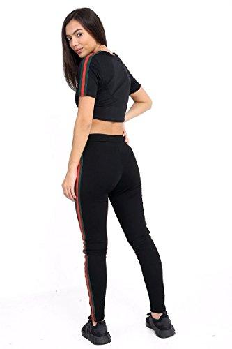FLIRTY WARDROBE - Survêtement - Manches Courtes - Femme * taille unique Noir