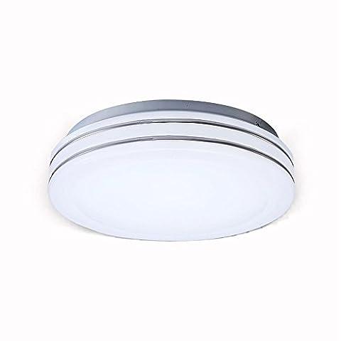 Rond blanc Moderne Simple Salon Flush Mount LED créative chambre plafonnier Mini Art balcon couloir éclairage