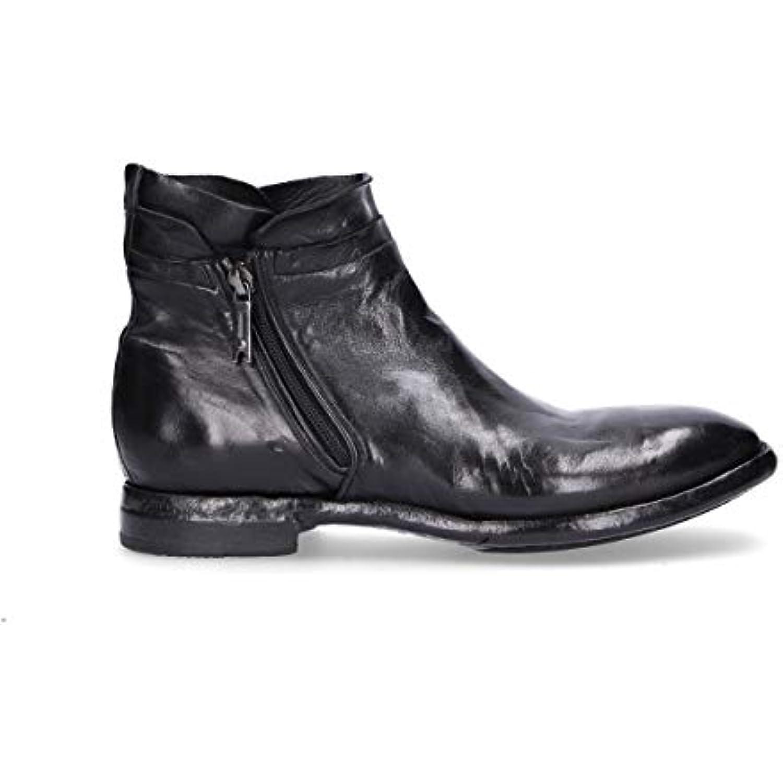 LEMARGO Homme AB16ABLACK Noir Noir AB16ABLACK Cuir Bottines - B07JWBGH6J - 43fed9