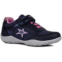 Geox Adalyn Girl J926BA Niñas Zapatillas,Slip On,Chica Zapatos Deportivos,Zapatillas,