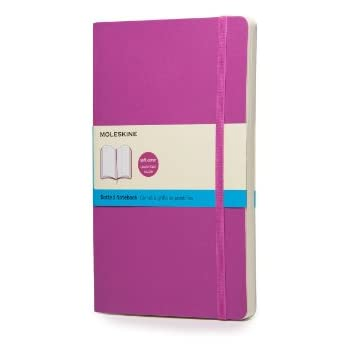 Moleskine Soft Large Orchid Purple Dotted Notebook