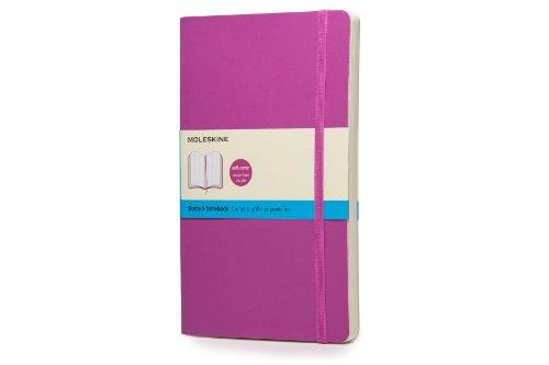 Moleskine Taccuino Notebook Classic, Large, Copertina Morbida, Puntinato, Viola